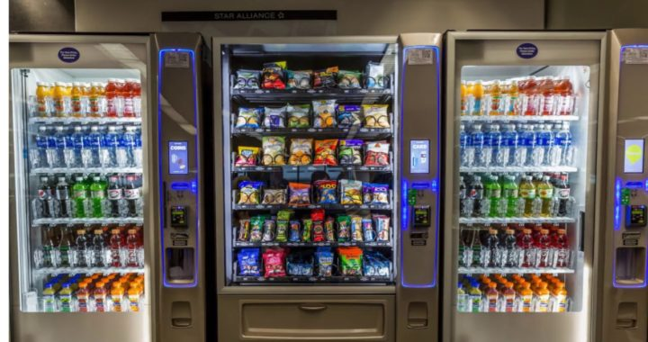 Healthy Vending Machines Fuel Productive Offices